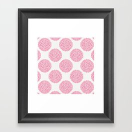 Petal Burst #10 Circles Framed Art Print