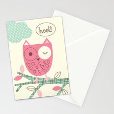 Hooty Owl Stationery Cards