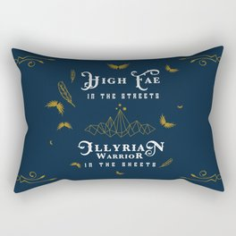 HIGH FAE IN THE STREETS Rectangular Pillow