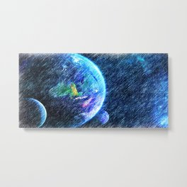 Far out there Metal Print