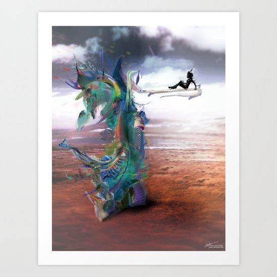 Tissin:nt Art Print