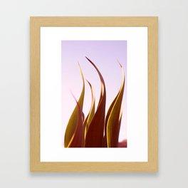 sinuosity Framed Art Print