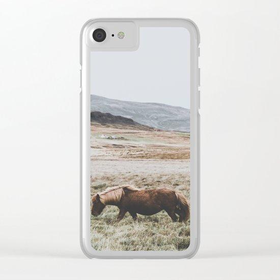 Hrútafjörður, Iceland II Clear iPhone Case
