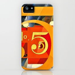 I Saw the Figure 5 in Gold - Digital Remastered Edition iPhone Case