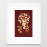 buffy Framed Art Prints featuring Buffy by mycolour