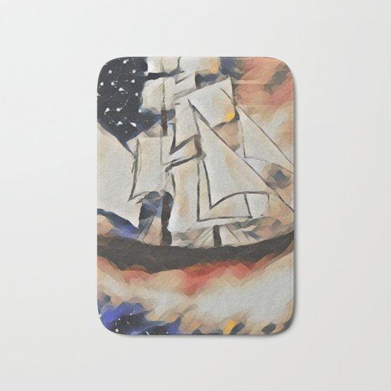 Sky Sailing Bath Mat