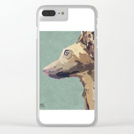 Whippet wonder Clear iPhone Case