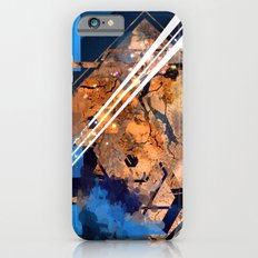 Abstraction, Orange and Blue Slim Case iPhone 6s