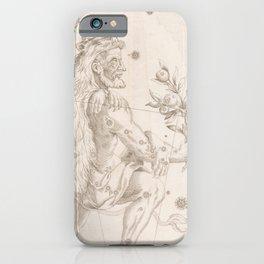 Johann Bayer - Uranometria / Measuring the Heavens (1661) - 07 Hercules iPhone Case
