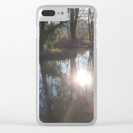 The Pond of Flow Clear iPhone Case