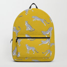 Cheetahs on Gold Backpack