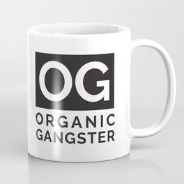 Organic Gangster - Vegan/Natural/Vegetarian Coffee Mug