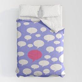 Talking Comforters