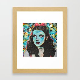 Over It Framed Art Print