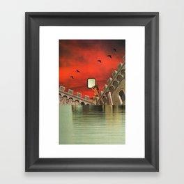 Mirror Star Framed Art Print