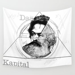 The Time of Marx Wall Tapestry