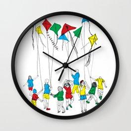 kite kids crew Wall Clock