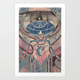 Medley  Pastel Art Print