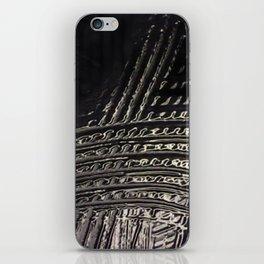 Back to Black iPhone Skin