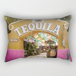 Tequila Tasting Rectangular Pillow