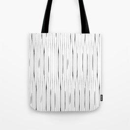 Minimalist vintage stripes pattern Tote Bag