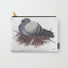 Rock Pigeon Carry-All Pouch