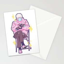 Bernie Sitting In A Chair Stationery Cards