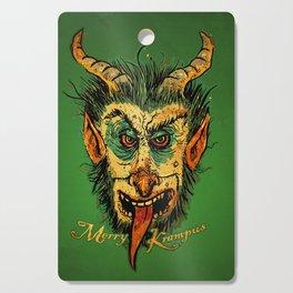 Merry Krampus Cutting Board