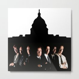 West Wing  Metal Print