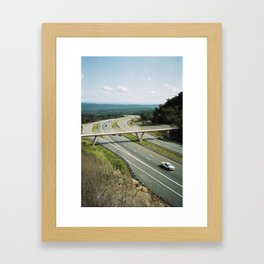 Interstate 68 2 Framed Art Print