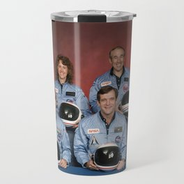 Space Shuttle Challenger Crew, November 1985 Travel Mug