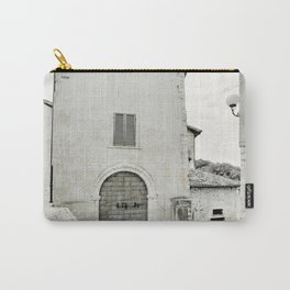 Italian street view Carry-All Pouch