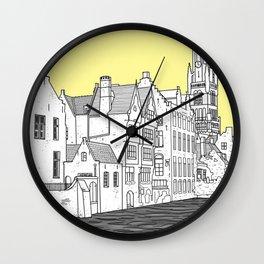 Bruges Wall Clock