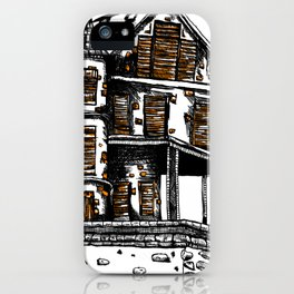 The Old Hiltop Home iPhone Case