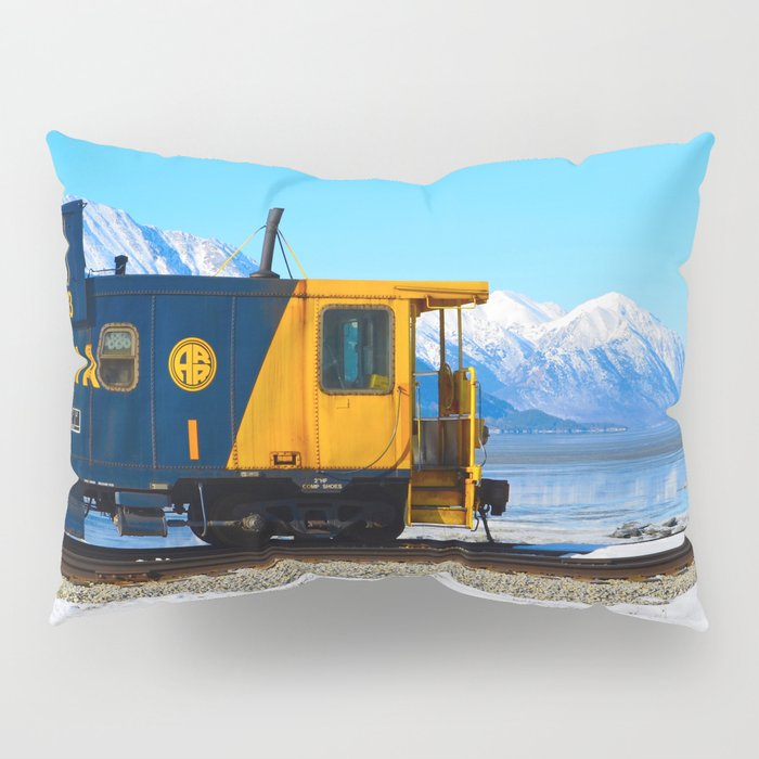 Caboose - Alaska Train Pillow Sham