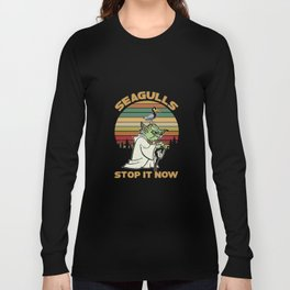 Seagulls Stop It - Vintage Long Sleeve T-shirt