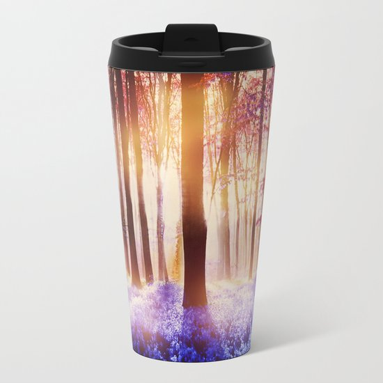 There is a light that never goes out Metal Travel Mug