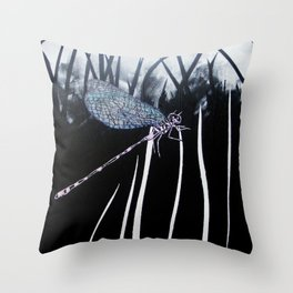 Westhay Dragonfly 1 Throw Pillow