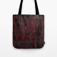 acid Tote Bags featuring Acid by NaturePrincess