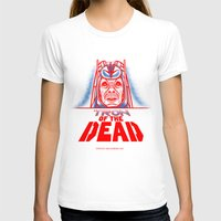 tron T-shirts featuring Tron of the dead by Gimetzco's Damaged Goods