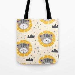 Cute lions Tote Bag