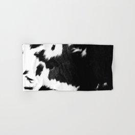Rustic Cowhide Hand & Bath Towel