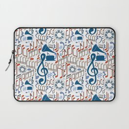 Music Pattern No.1 Laptop Sleeve