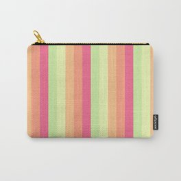 Melon Ball Striped Pattern Carry-All Pouch