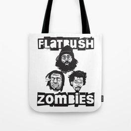 Flatbush Zombies BW Tote Bag