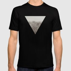 Shiver MEDIUM Mens Fitted Tee Black