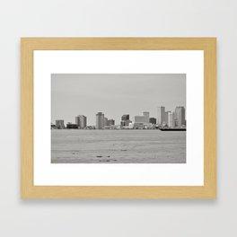 New Orleans Skyline - New Orleans, Louisiana Framed Art Print