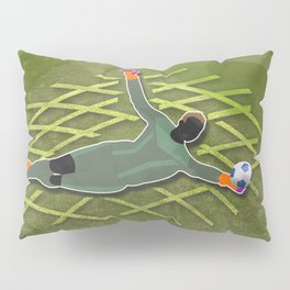 Soccer Goalkeerper Pillow Sham