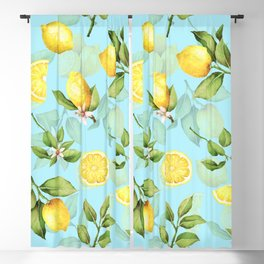 Vintage & Shabby Chic - Lemonade Blackout Curtain