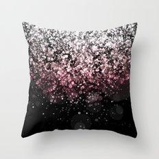Blendeds II Glitterest Throw Pillow